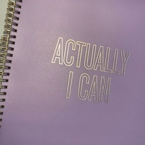 """NWT Kate Spade """"Actually I Can"""" Large Note…"""
